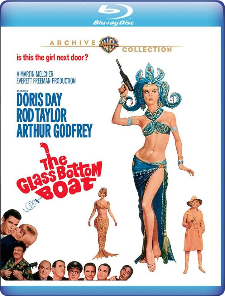 The Glass Bottom Boat (Warner Archive Collection)(Blu-ray)(Region Free)(Pre-order / Apr 2)
