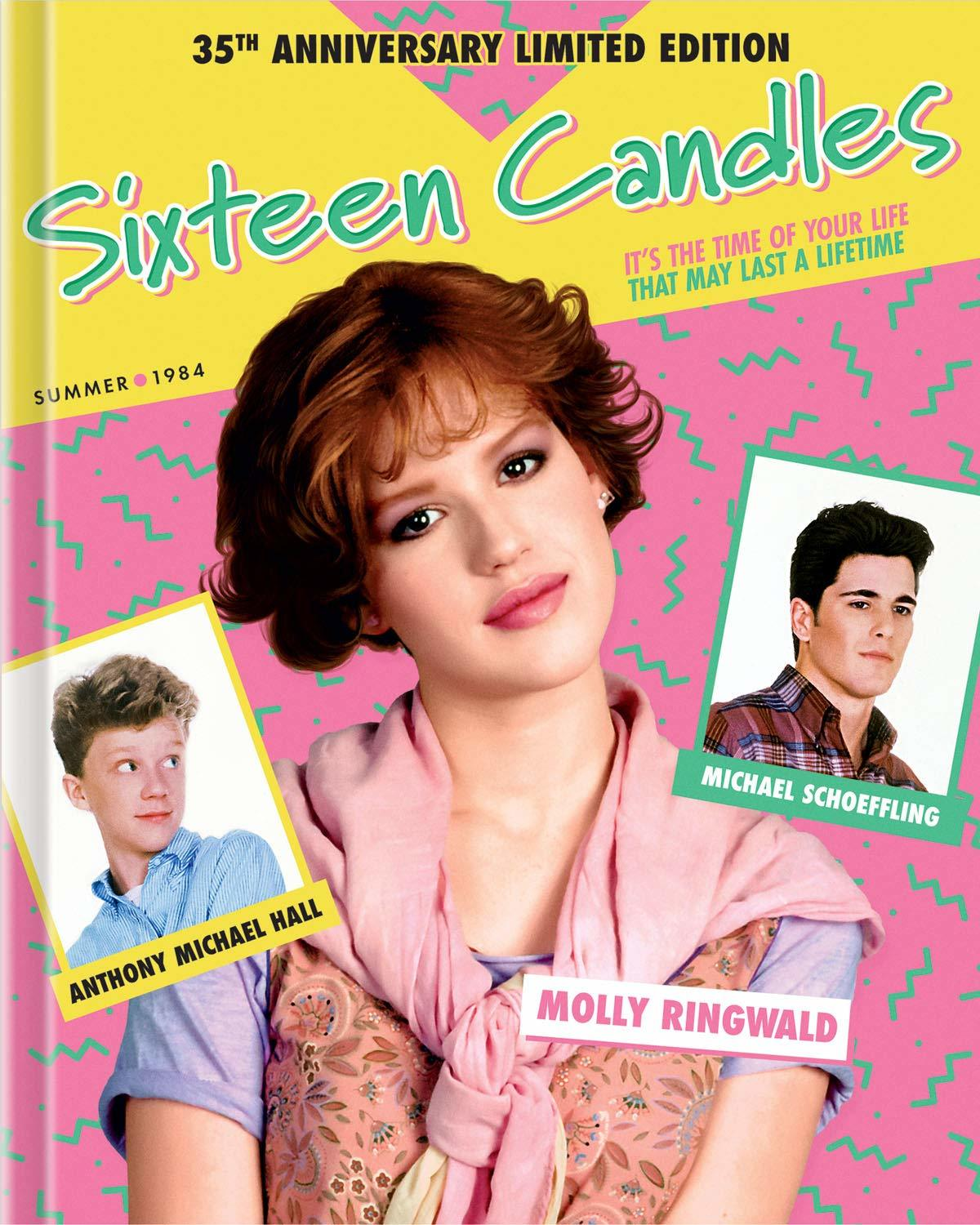 Sixteen Candles (DigiBook)(35th Anniversary Limited Edition)(Blu-ray)(Region Free)