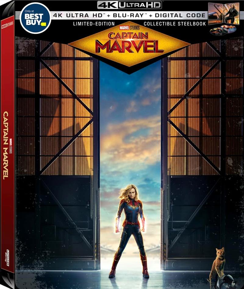 Captain Marvel (SteelBook)(4K Ultra HD Blu-ray)(Pre-order / TBA)