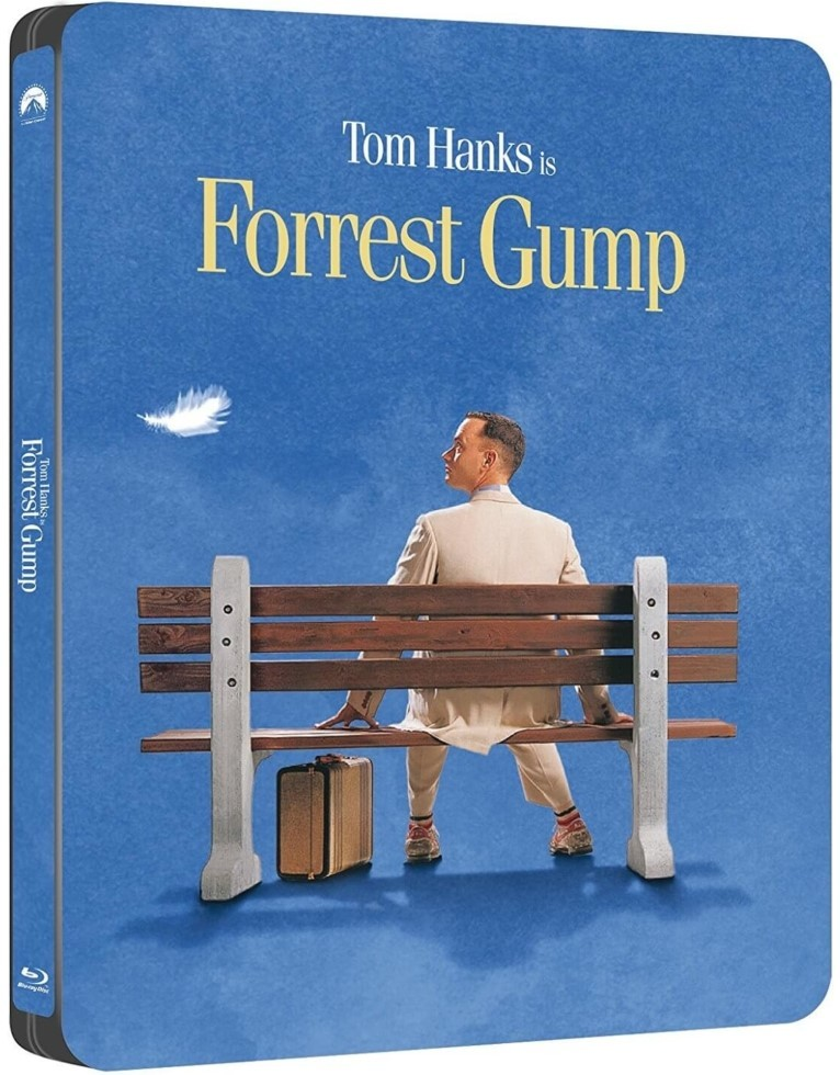 Forrest Gump (SteelBook)(25th Anniversary Edition)(Blu-ray)(Region Free)