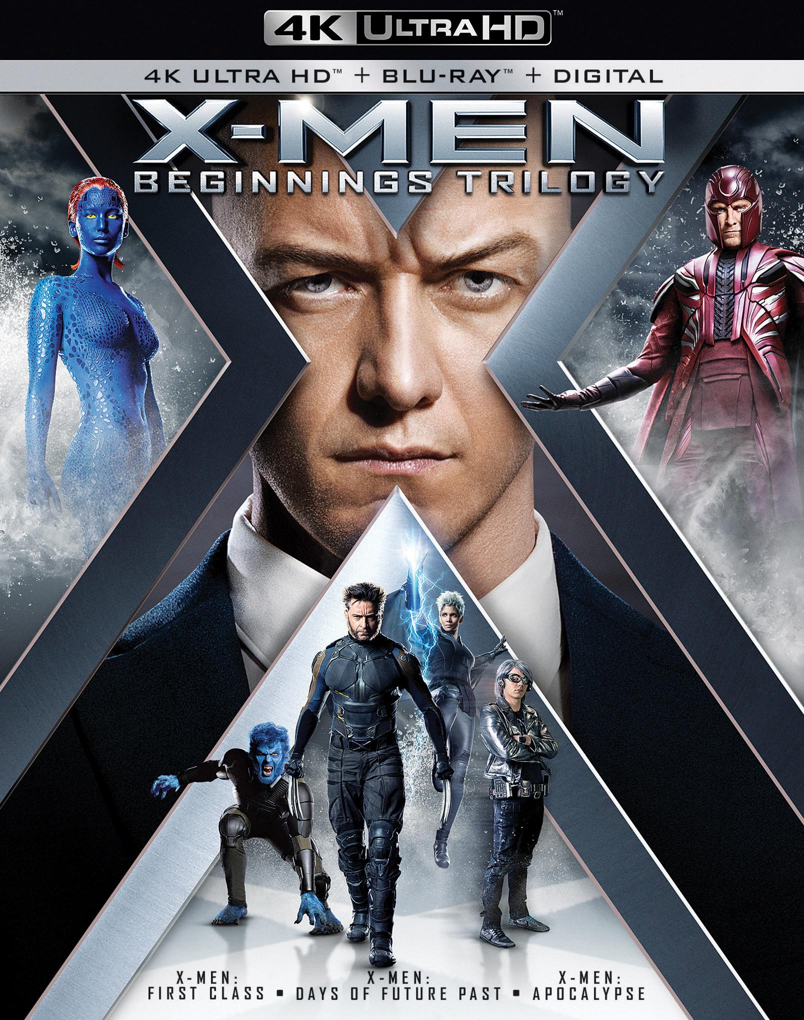 X-Men: Beginnings Trilogy (4K Ultra HD Blu-ray)(Pre-order / Apr 30)