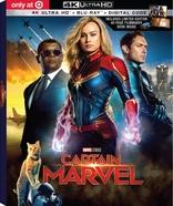 Captain Marvel 4k Blu Ray