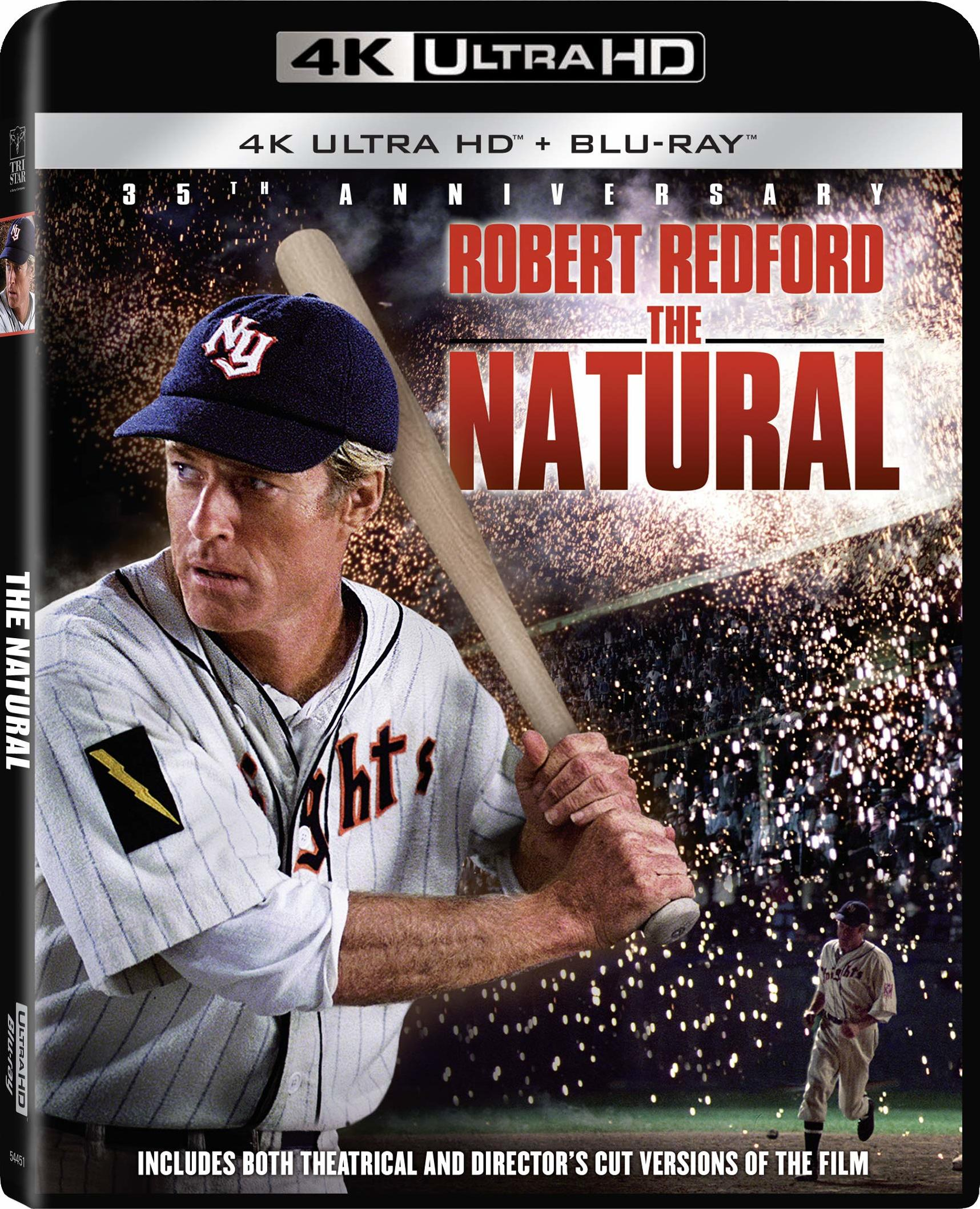 The Natural (35th Anniversary Edition)(4K Ultra HD Blu-ray)(Pre-order / Jun 4)