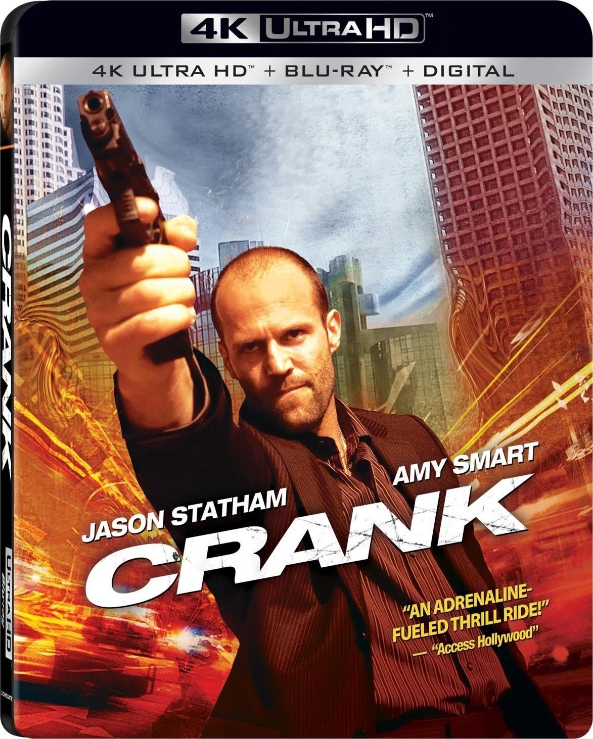 Crank (4K Ultra HD Blu-ray)(Pre-order / May 21)