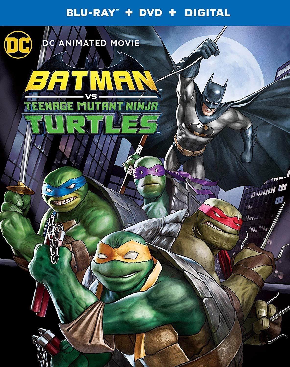Batman vs. Teenage Mutant Ninja Turtles (Blu-ray)(Region Free)(Pre-order / Jun 4)