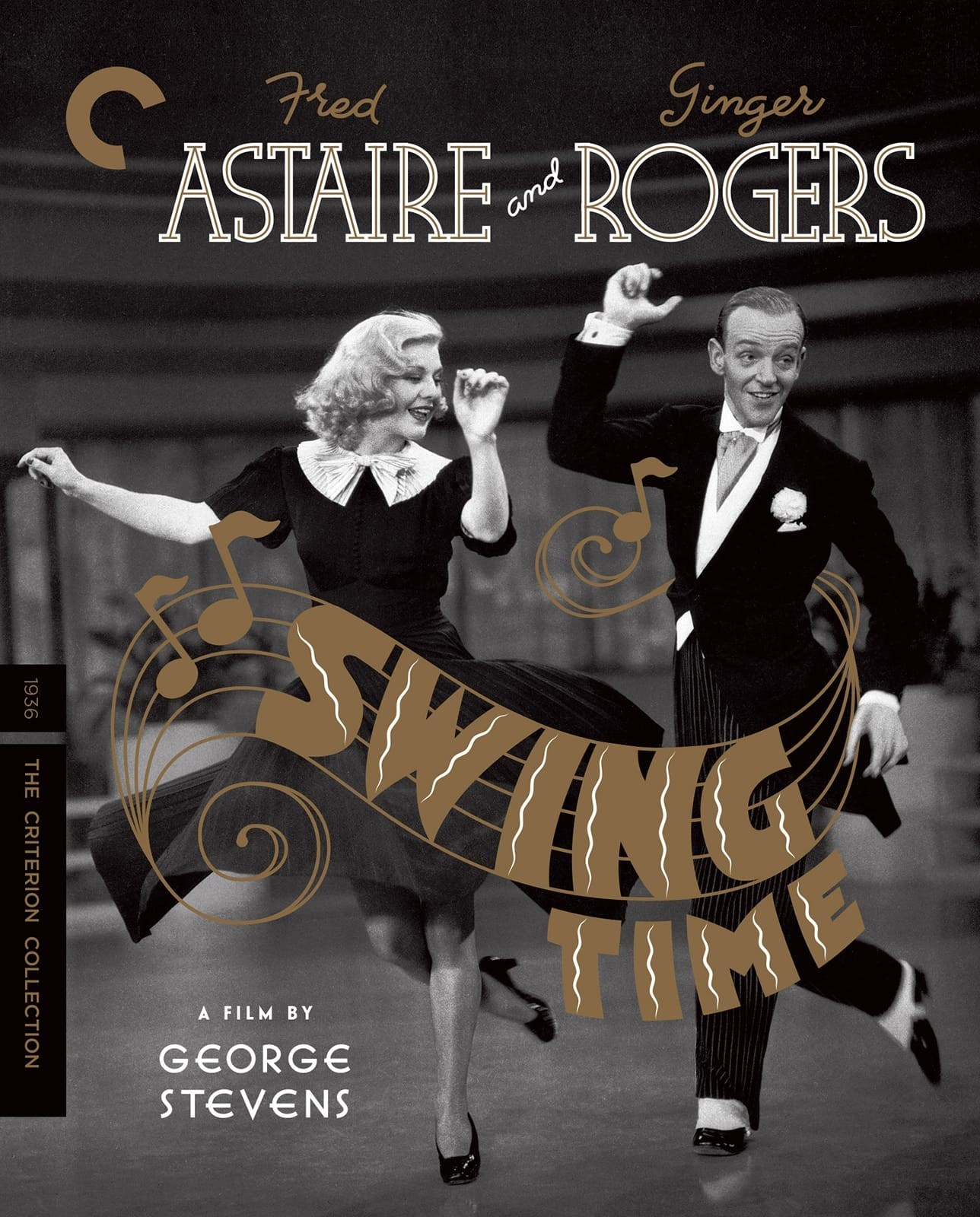 Swing Time (The Criterion Collection)(Blu-ray)(Region A)(Pre-order / Jun 11)