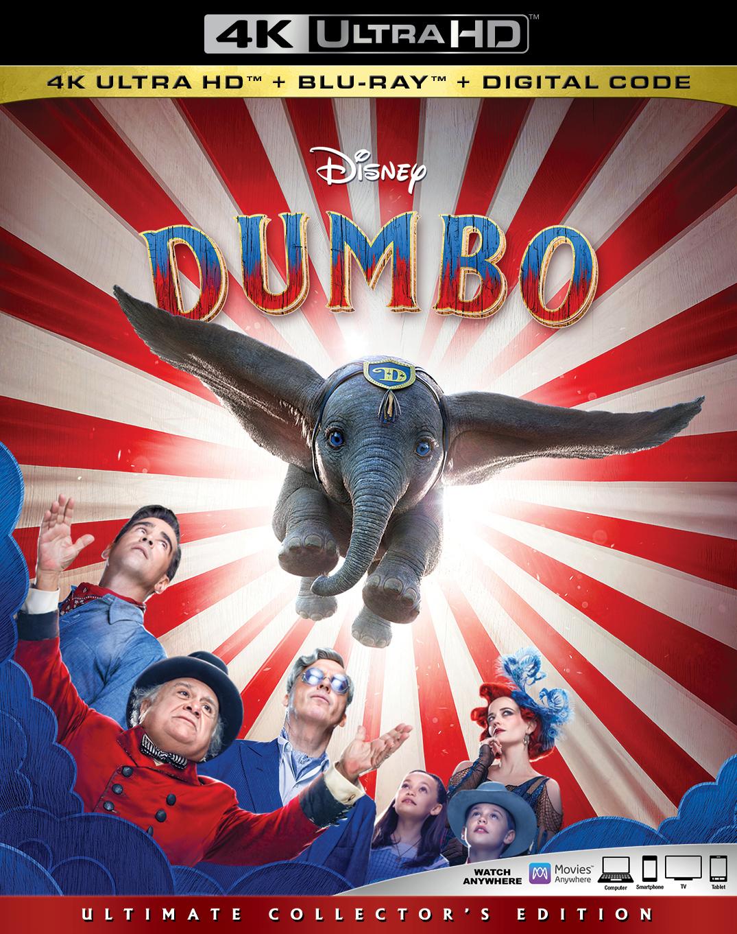 Dumbo (Live Action)(4K Ultra HD Blu-ray)(Pre-order / TBA)