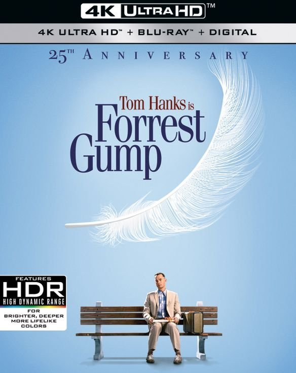 Forrest Gump (25th Anniversary Edition)(4K Ultra HD Blu-ray)(Pre-order / May 7)