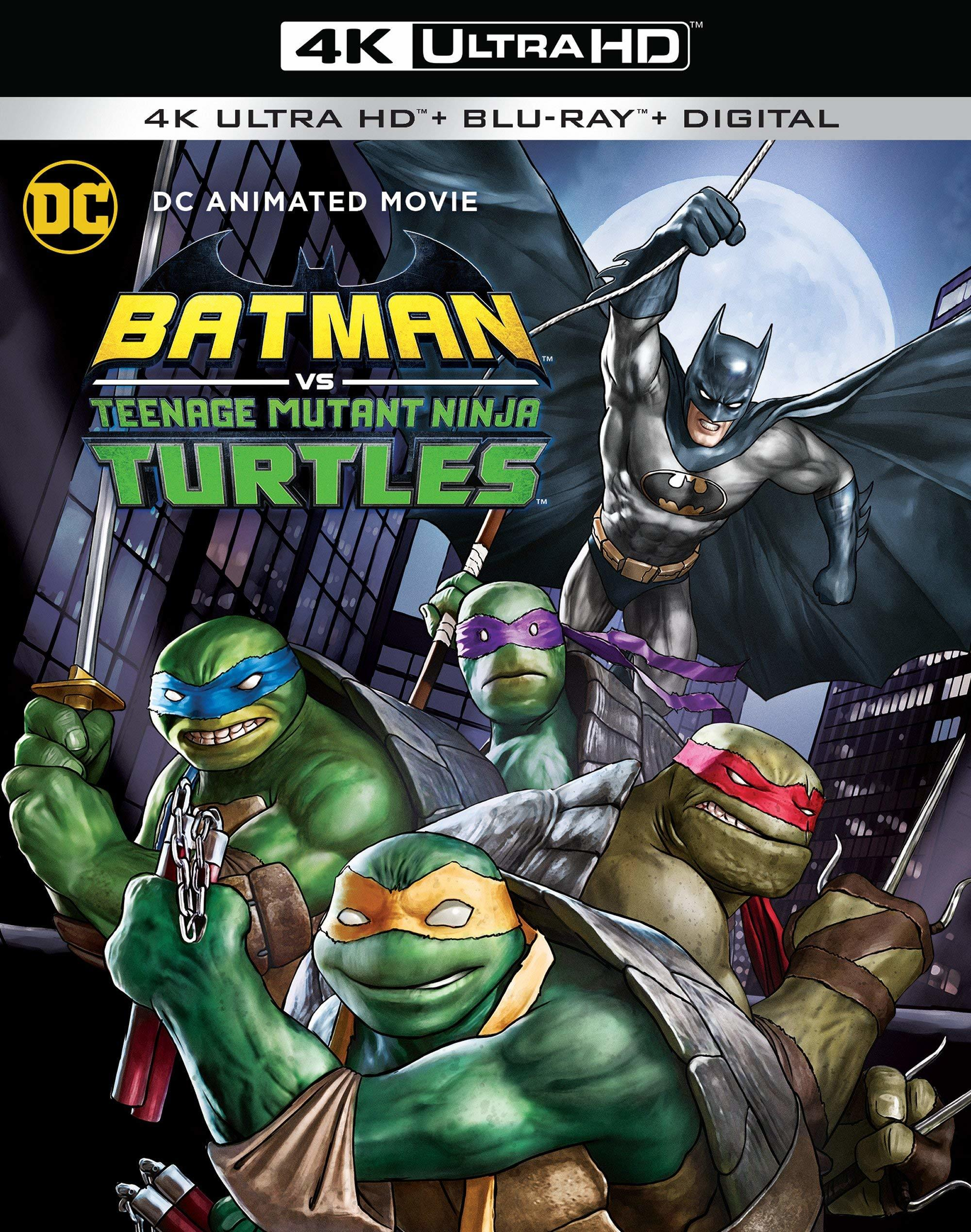 Batman Vs. Teenage Mutant Ninja Turtles (4K Ultra HD Blu-ray)(Pre-order / Jun 4)