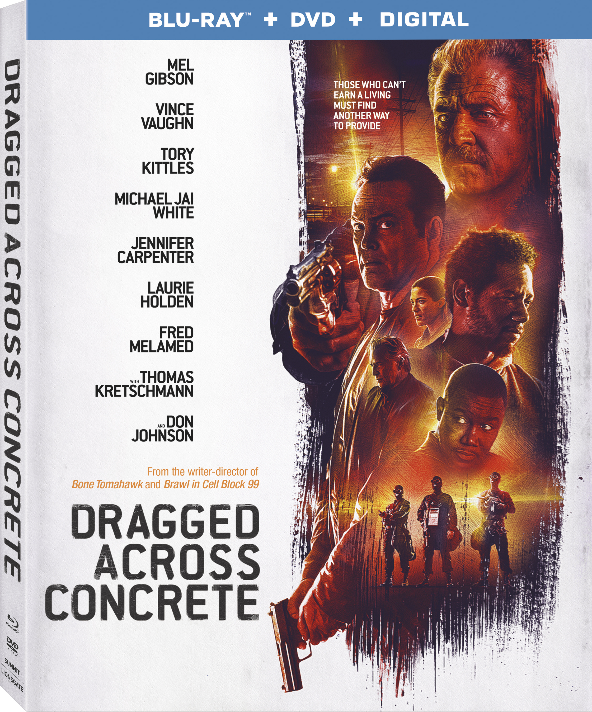 Dragged Across Concrete (Blu-ray)(Region A)(Pre-order / Apr 30)