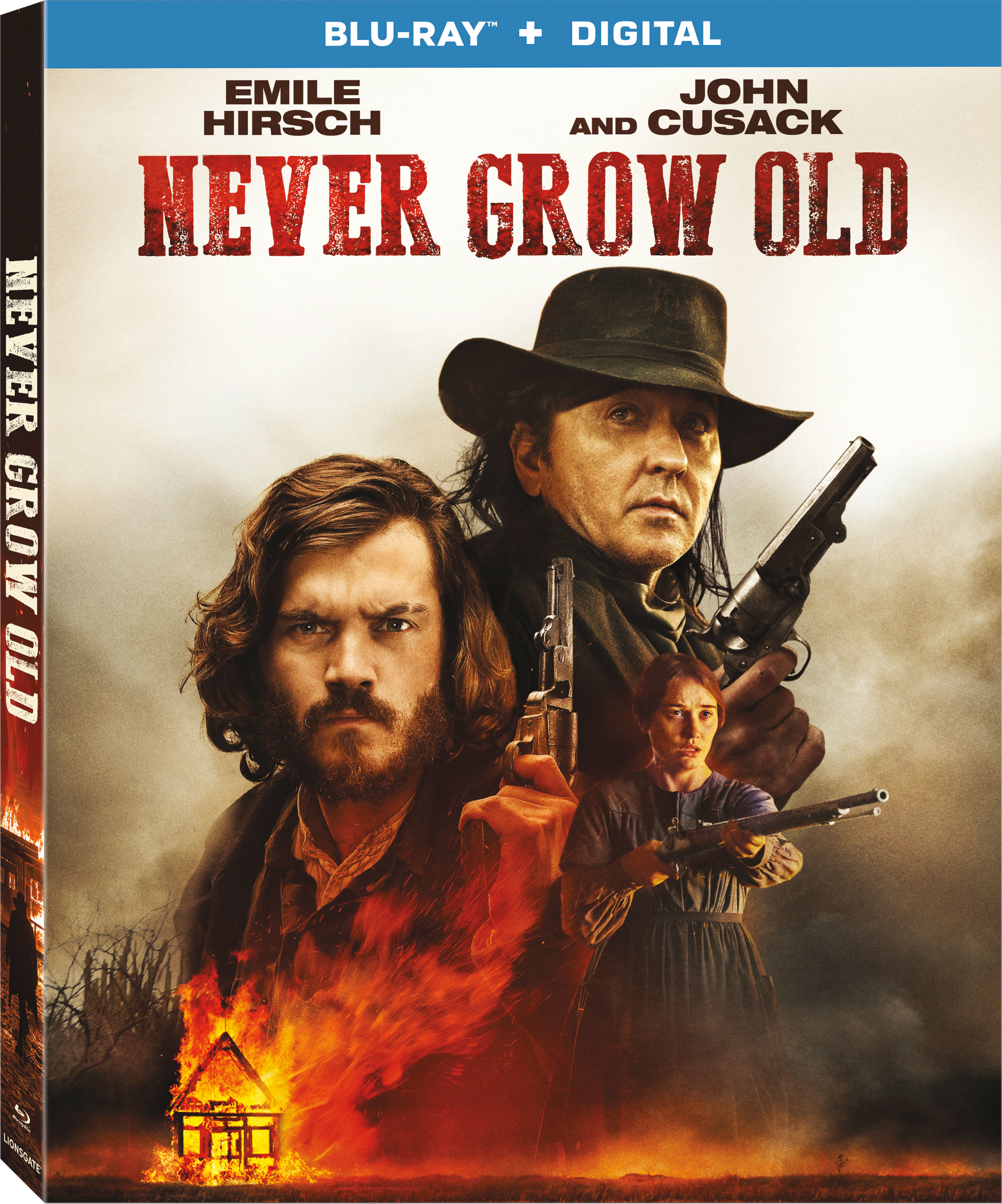 Never Grow Old (Blu-ray)(Region A)(Pre-order / May 14)