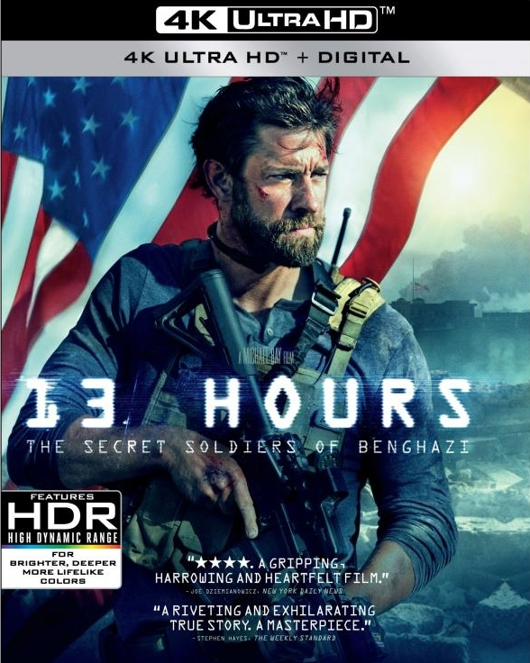 13 Hours: The Secret Soldiers of Benghazi (4K Ultra HD Blu-ray)(Pre-order / Jun 11)