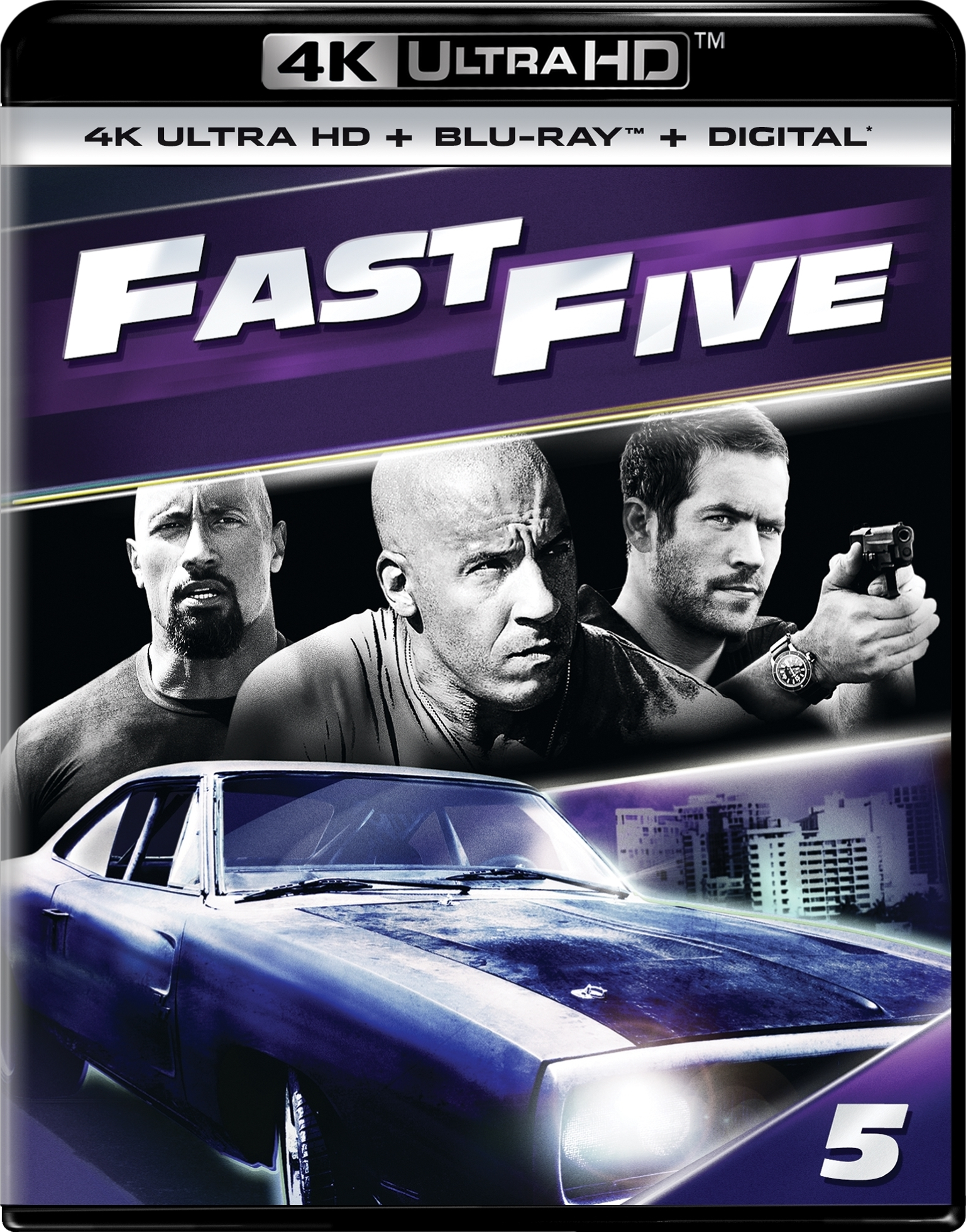 Fast Five (5)(4K Ultra HD Blu-ray)(Pre-order / Jun 11)