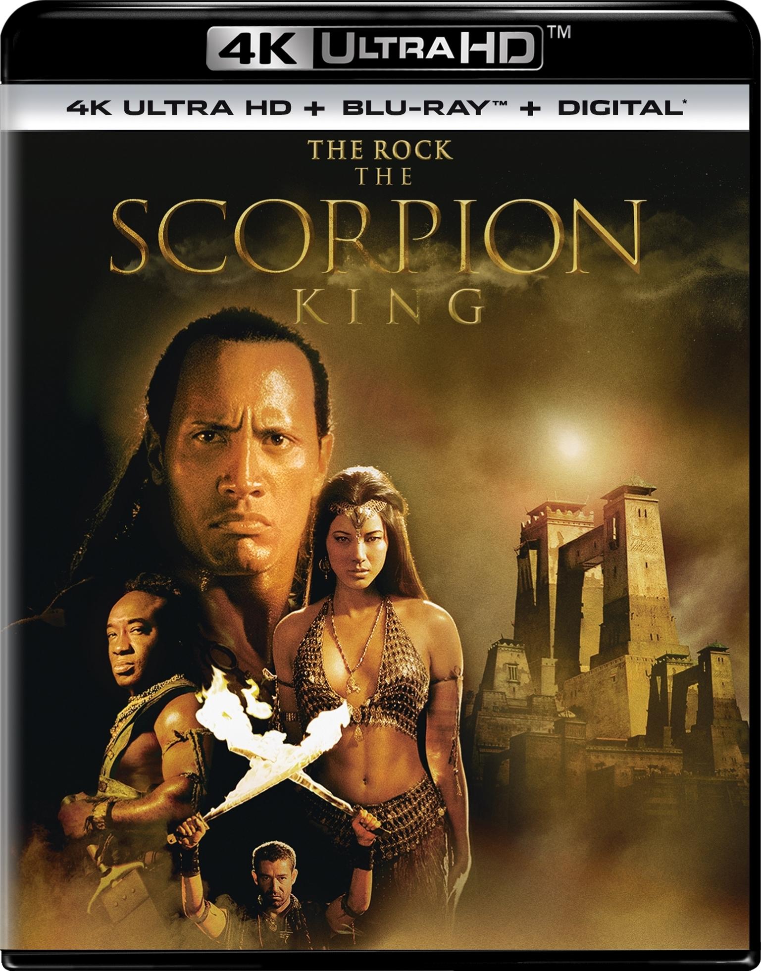 The Scorpion King (4K Ultra HD Blu-ray)(Pre-order / Jun 18)