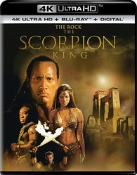 The Scorpion King 4K (Blu-ray) Temporary cover art