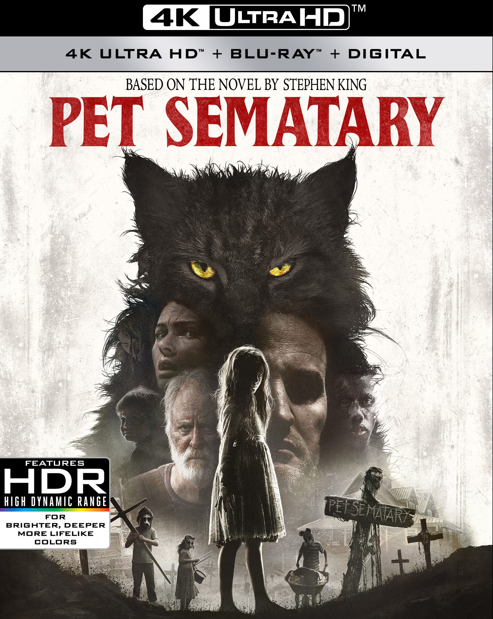 Pet Sematary (2019)(4K Ultra HD Blu-ray)(Pre-order / TBA)