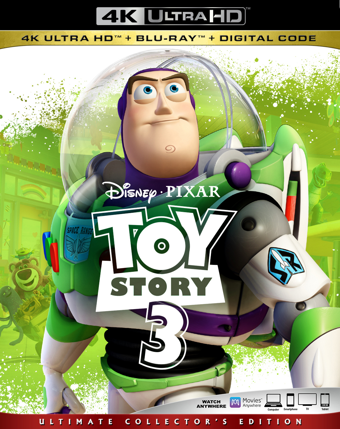 Toy Story 3 (4K Ultra HD Blu-ray)(Pre-order / TBA)