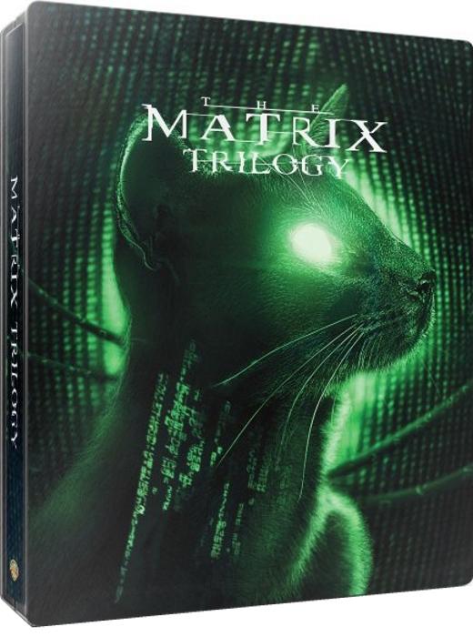 The Matrix Trilogy (SteelBook)(4K Ultra HD Blu-ray)(Pre-order / Jun 4)