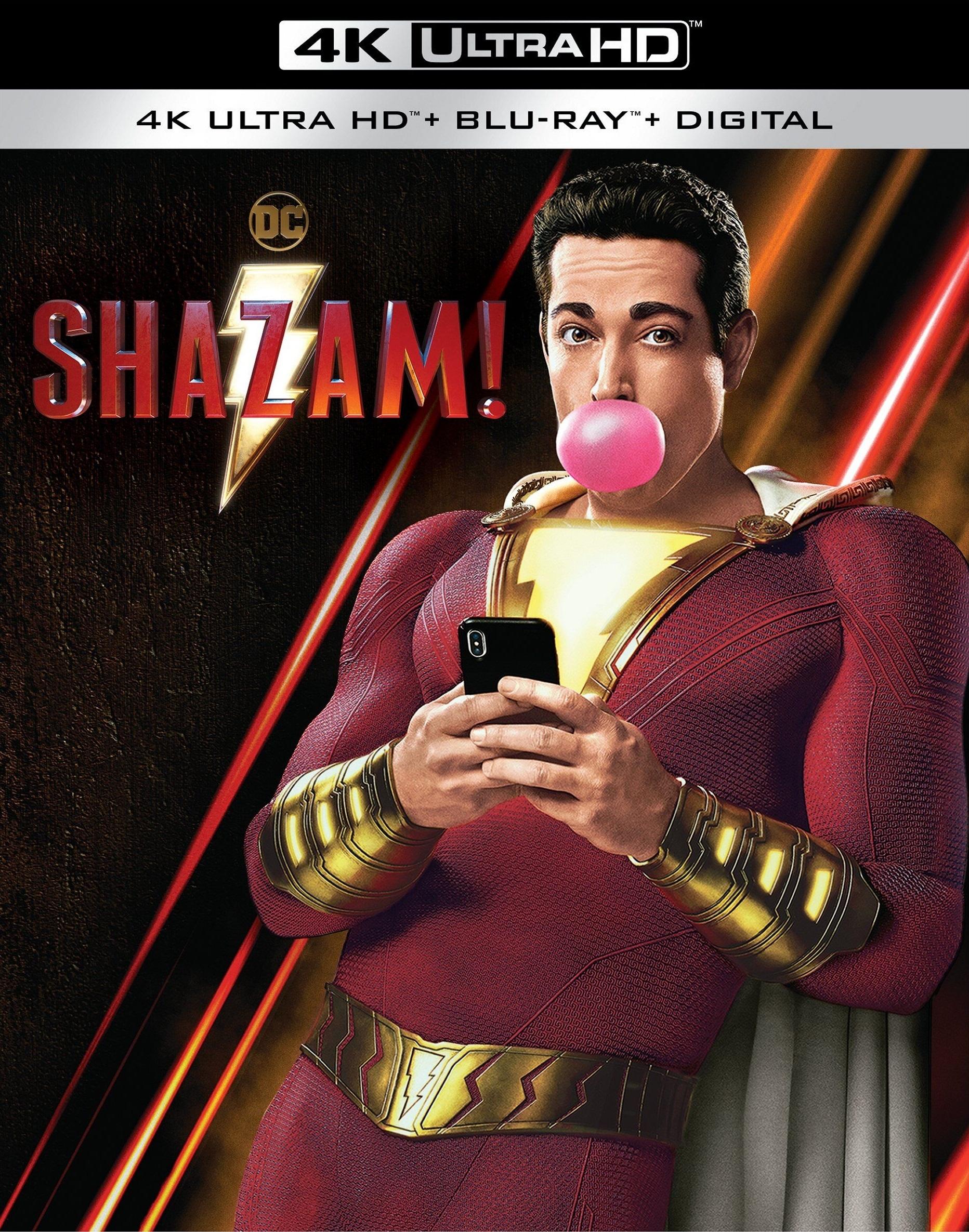 Shazam! (4K Ultra HD Blu-ray)(Pre-order / TBA)