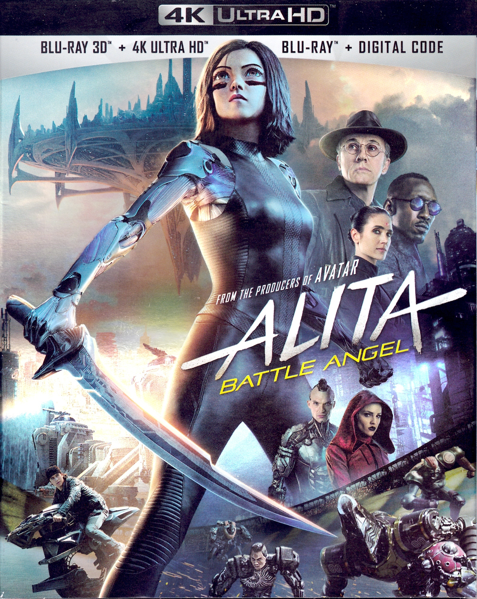 Alita: Battle Angel (4K Ultra HD Blu-ray)(Pre-order / TBA)