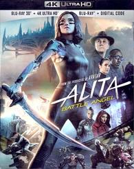 Alita Battle Angel 4k 3d Blu Ray Release Date July 23 2019 4k Ultra Hd Blu Ray 3d Blu Ray Digital Hd