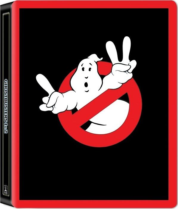 Ghostbusters 1 and 2 (SteelBook)(4K Ultra HD Blu-ray)(Pre-order / Jun 11)