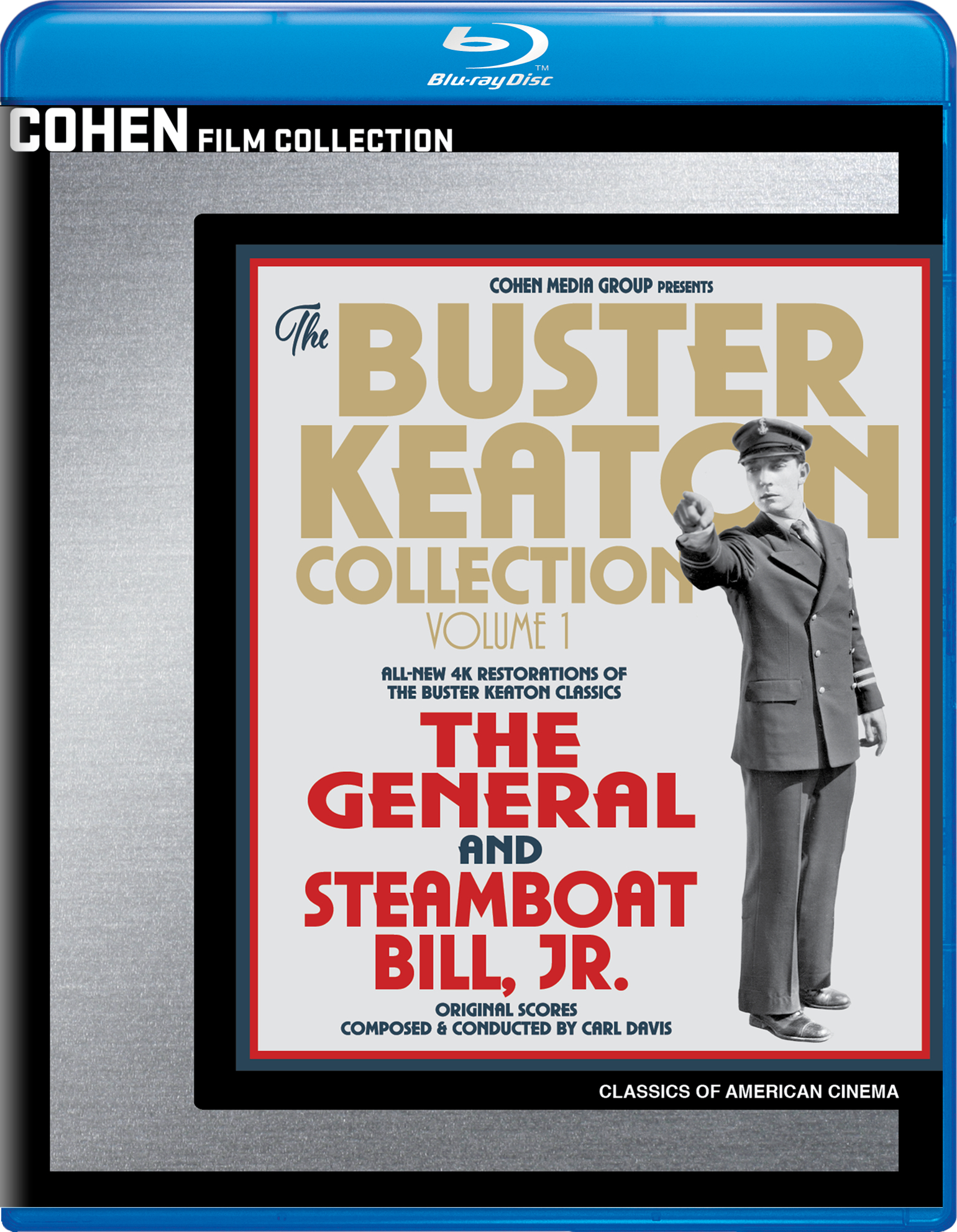 Buster Keaton Collection: Volume 1 (Blu-ray)(Region A)