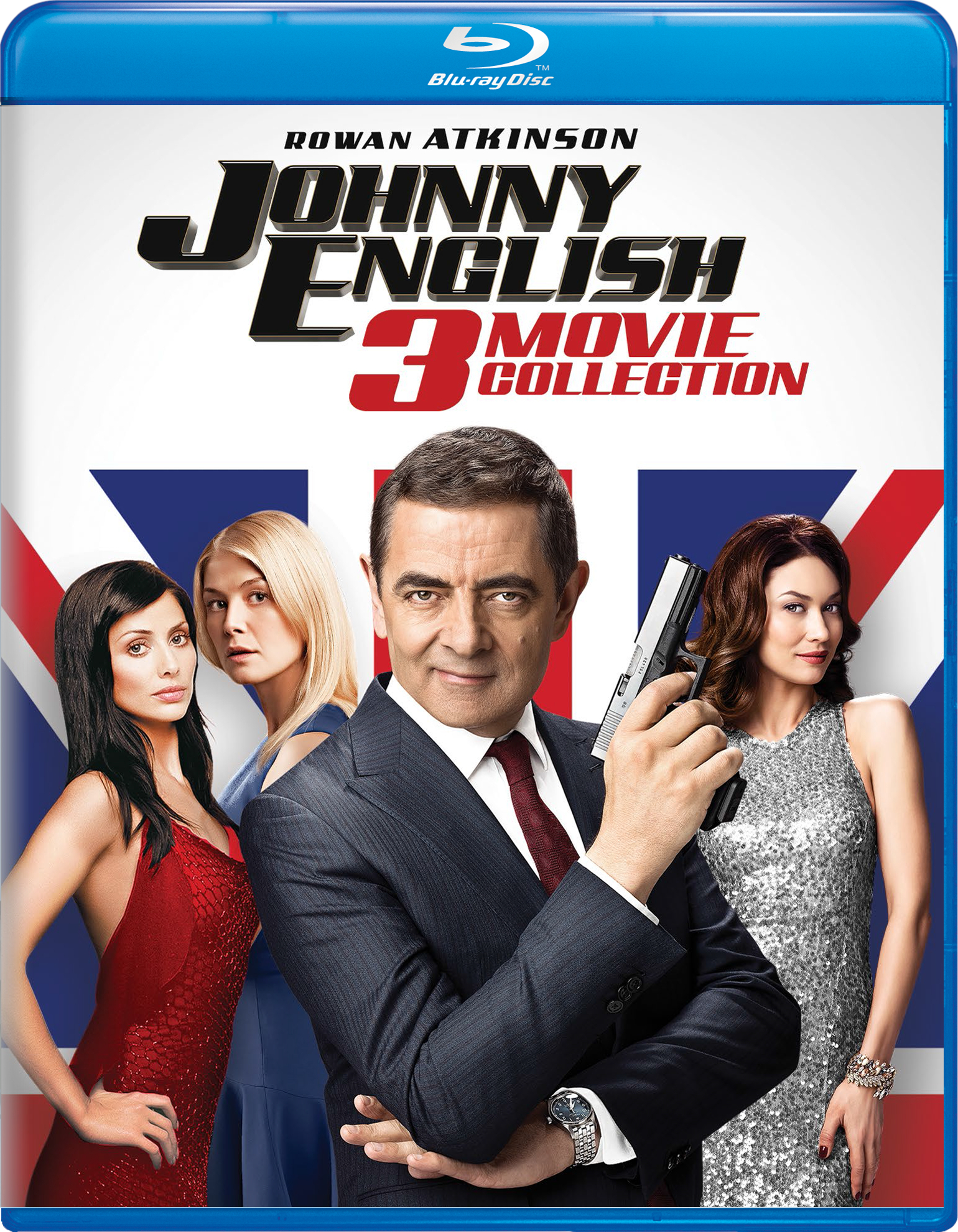 Johnny English: 3-Movie Collection (Blu-ray)(Region Free)(Pre-order / Jun 4)