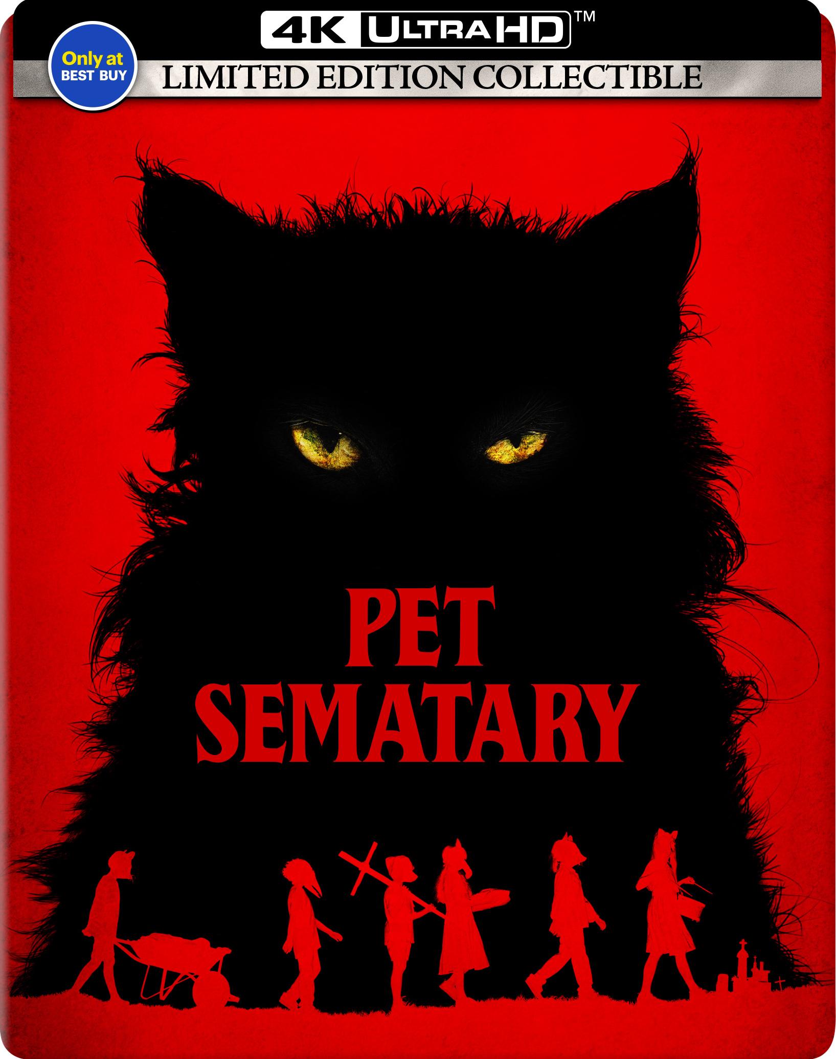 Pet Sematary (2019)(SteelBook)(4K Ultra HD Blu-ray)(Pre-order / TBA)