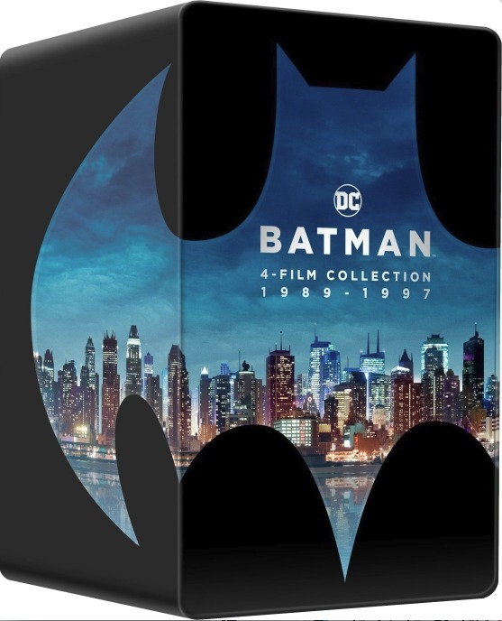 Batman 4 Film Collection (SteelBook)(4K Ultra HD Blu-ray)(Pre-order / Sep 17)