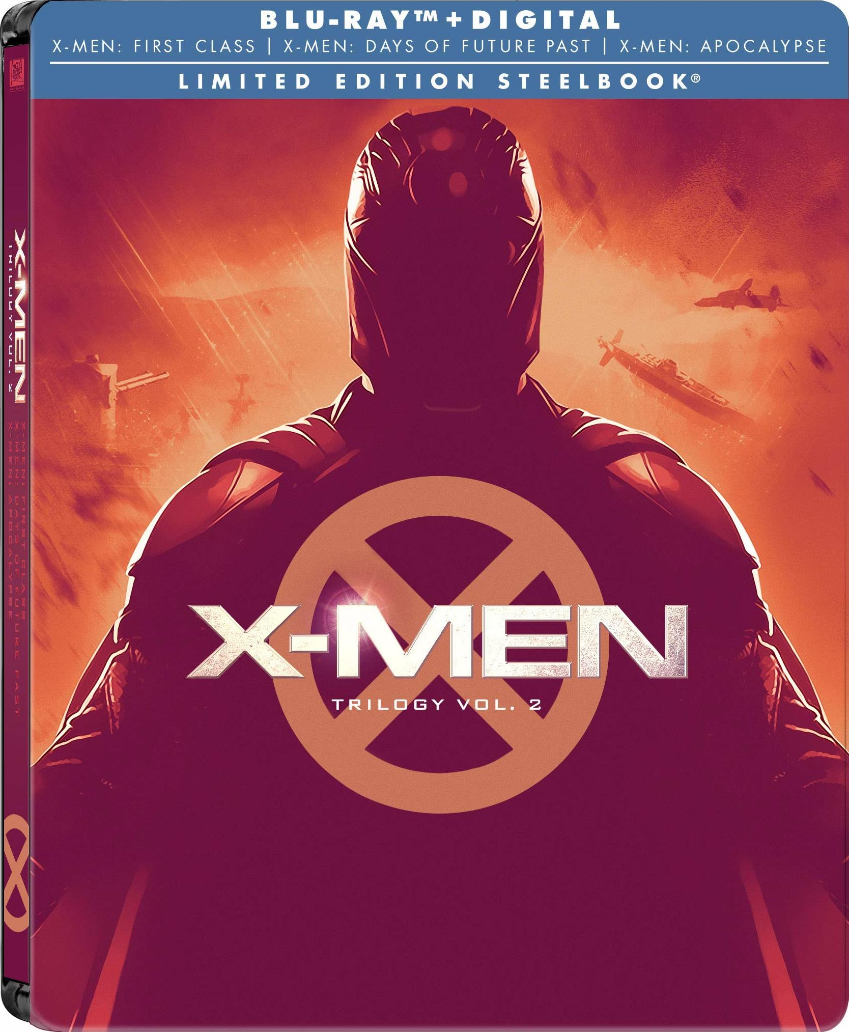 X-Men: Trilogy Vol. 2 (SteelBook)(Blu-ray)(Region A)