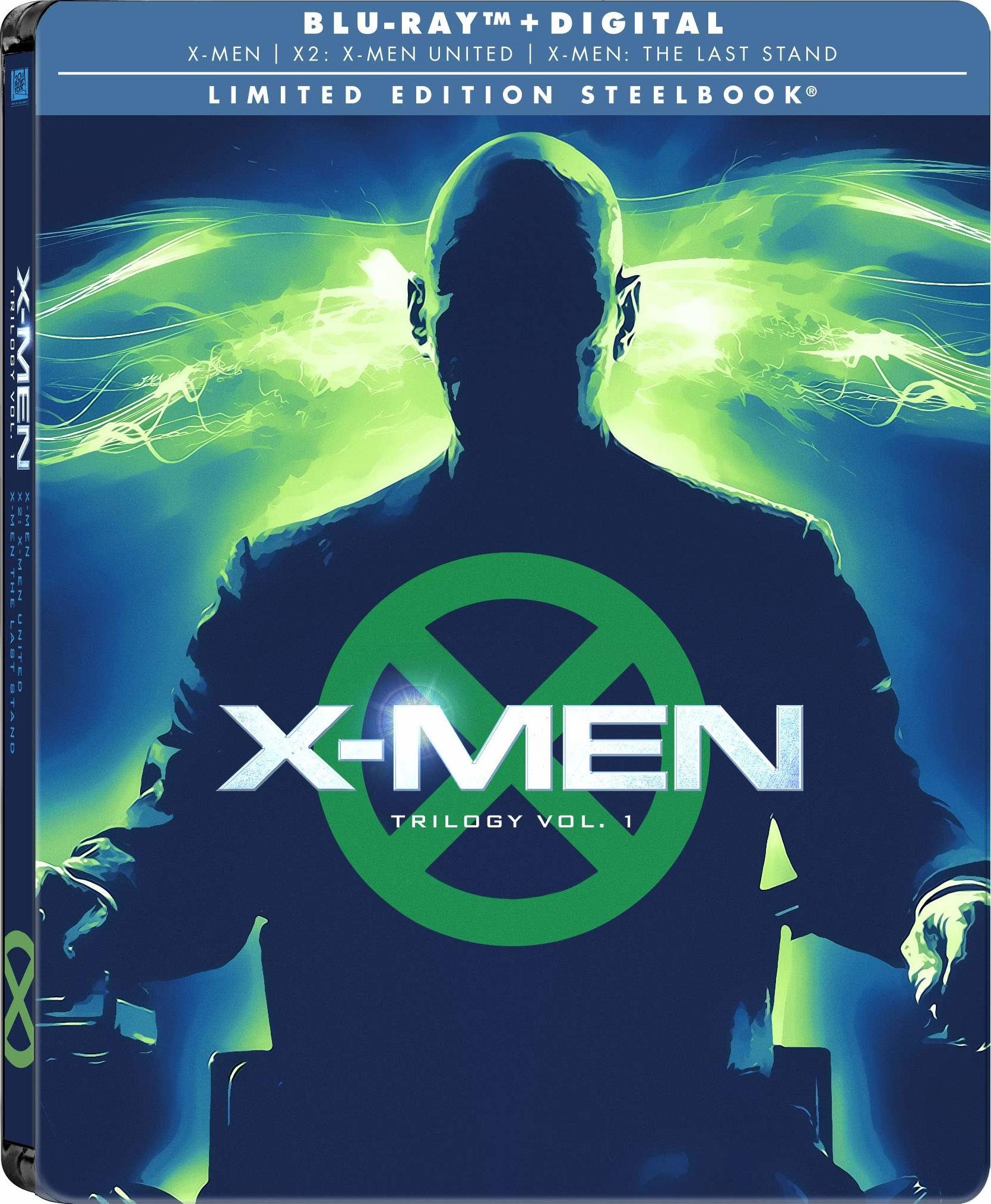 X-Men: Trilogy Vol. 1 (SteelBook)(Blu-ray)(Region A)