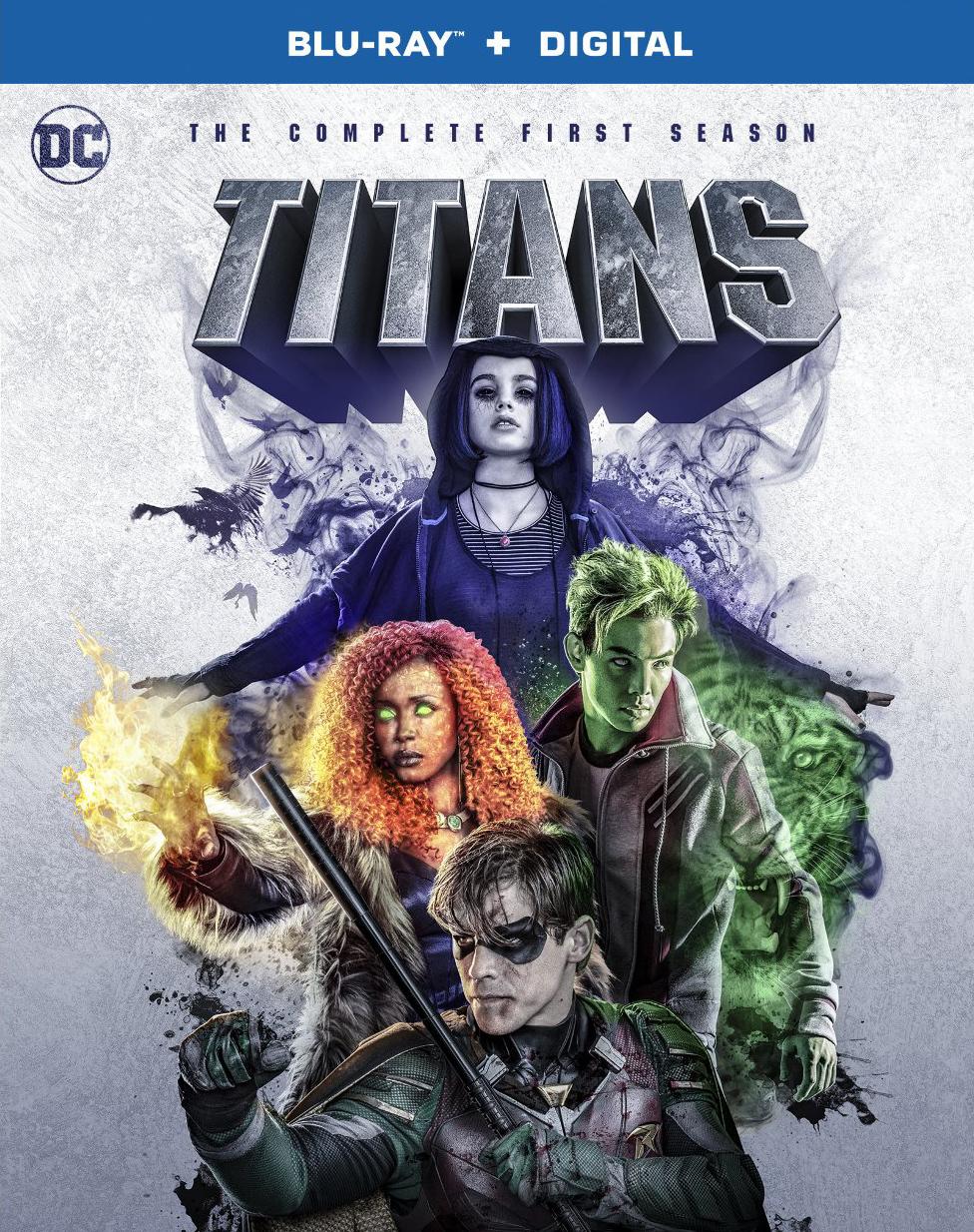 Titans: The Complete First Season (Blu-ray)(Region Free)(Pre-order / Jul 16)