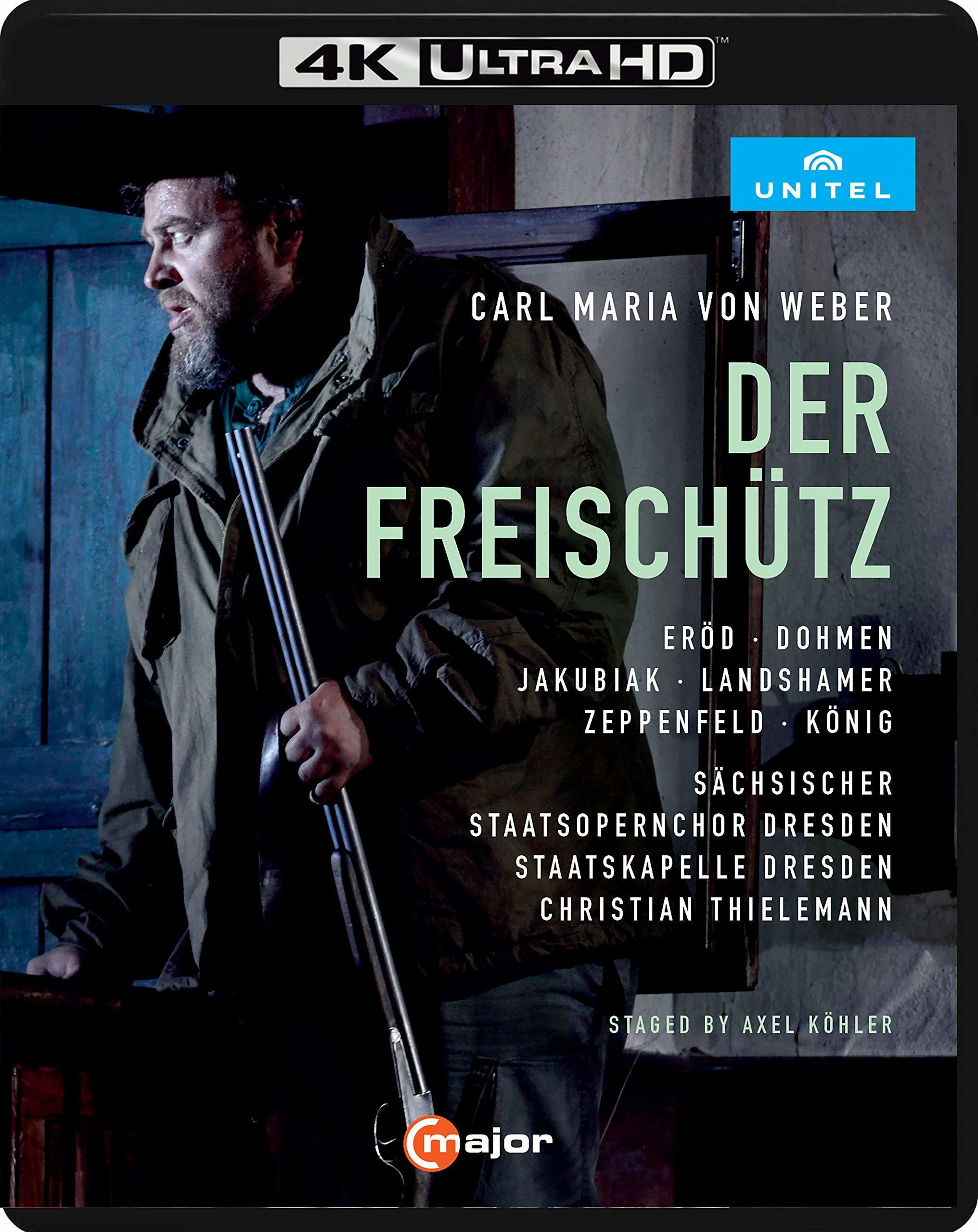 Der Freischütz (Weber)(4K Ultra HD Blu-ray)(Pre-order / May 28)
