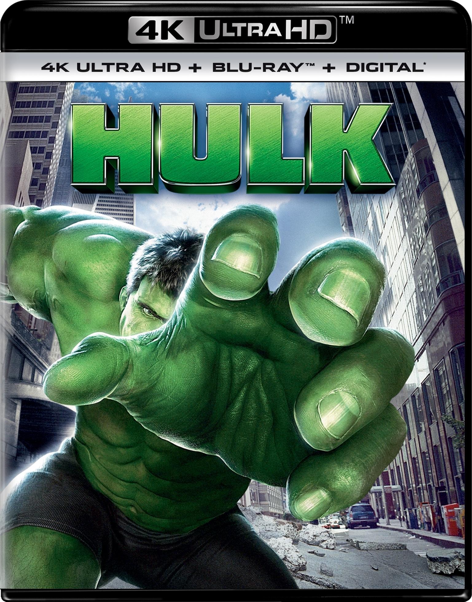 Hulk (4K Ultra HD Blu-ray)(Pre-order / Jul 9)
