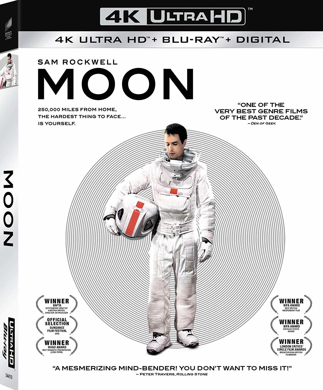 Moon (4K Ultra HD Blu-ray)(Pre-order / Jul 16)