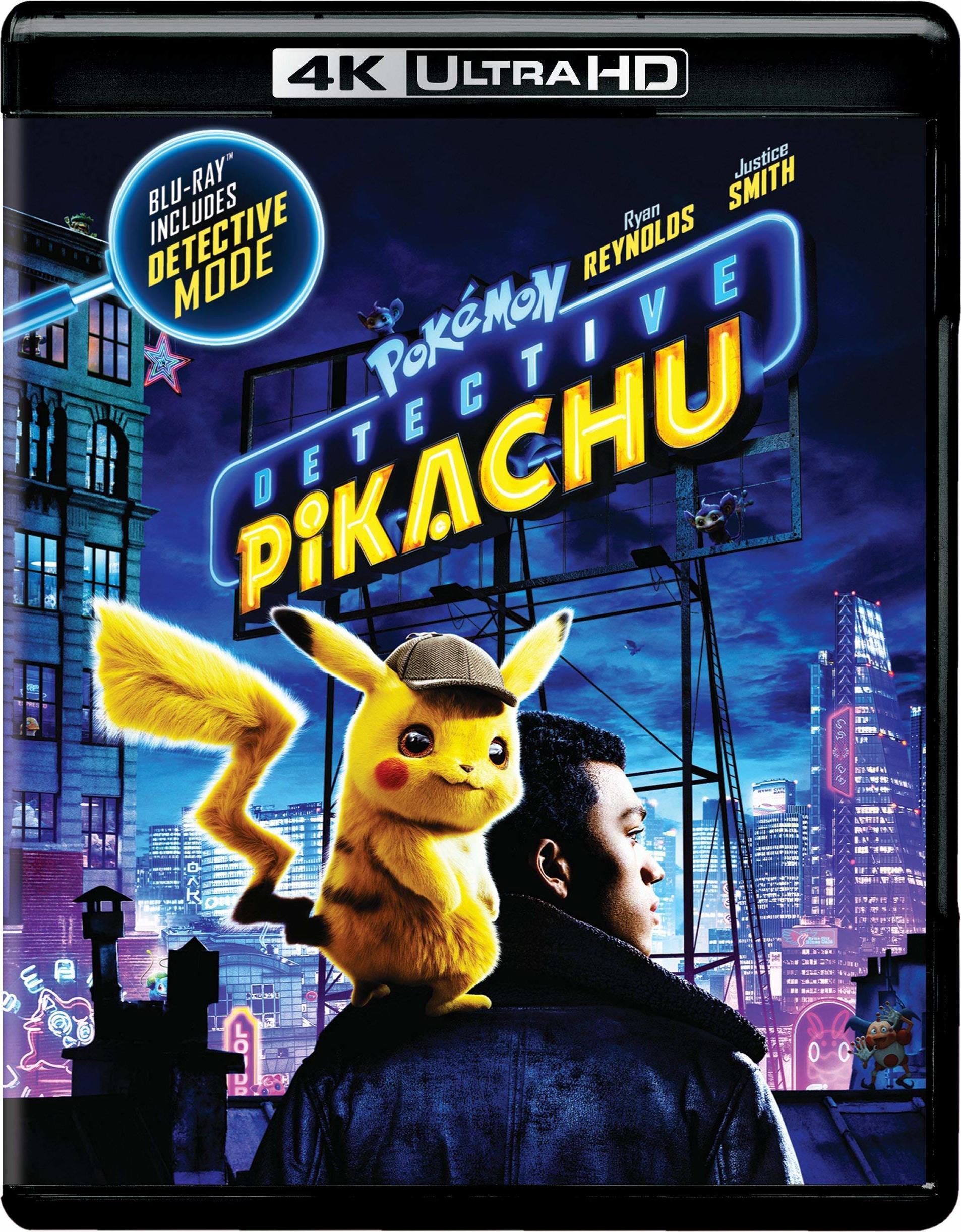 Pokémon: Detective Pikachu (4K Ultra HD Blu-ray)(Pre-order / TBA)