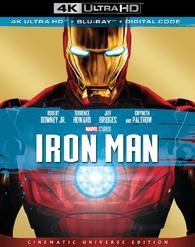 Iron Man 4k Blu Ray Release Date August 13 2019 4k Ultra Hd Blu Ray Digital Hd