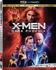 X-Men: Dark Phoenix 4K (Blu-ray) Temporary cover art