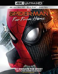 Spider Man Far From Home 4k Blu Ray Release Date October 1 2019 4k Ultra Hd Blu Ray Digital Hd