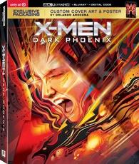 X-Men: Dark Phoenix 4K (Blu-ray)