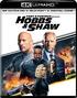 Fast & Furious Presents: Hobbs & Shaw 4K (Blu-ray)