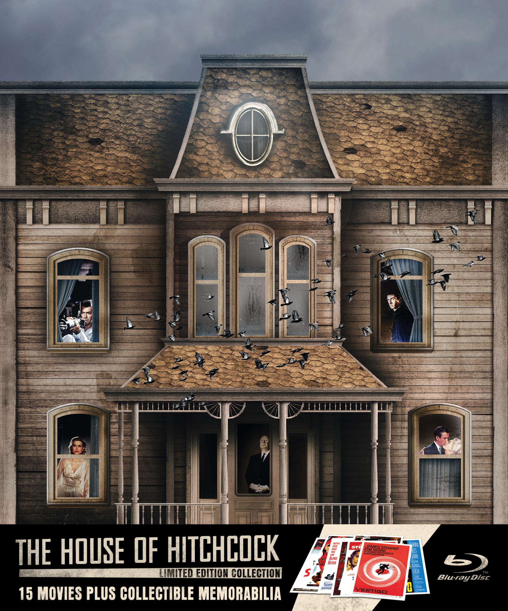 The House of Hitchcock US Blu-ray box set