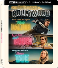 Once Upon a Time in Hollywood 4K (Blu-ray) Temporary cover art