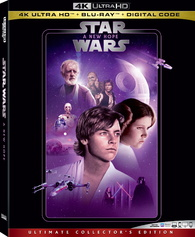 Star Wars Episode Iv A New Hope 4k Blu Ray Release Date March 31 2020 4k Ultra Hd Blu Ray Digital Hd