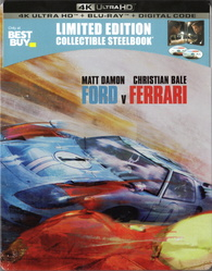 Ford V Ferrari 4k Steelbook Best Buy Exclusive Blu Ray Forum
