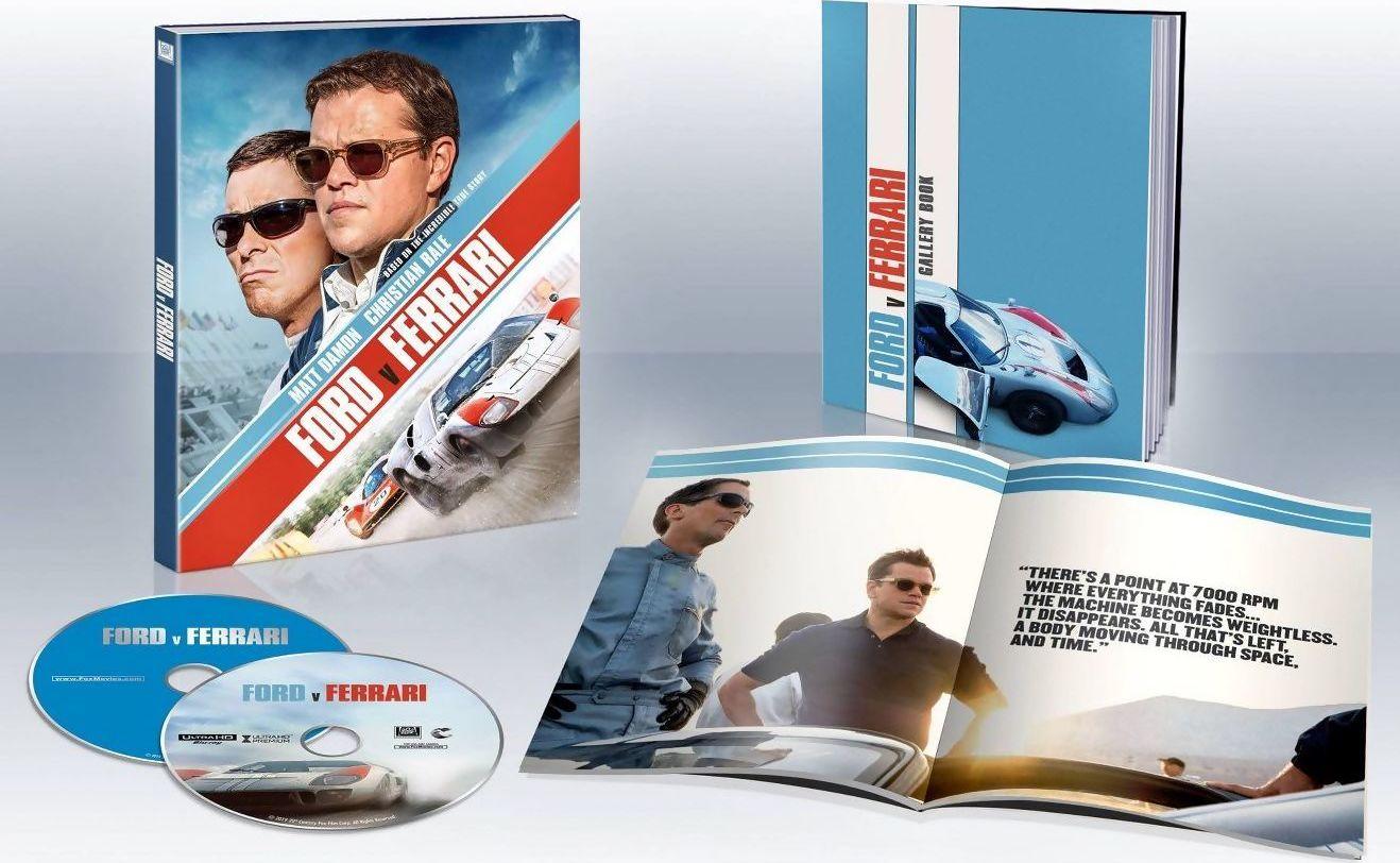 Ford V Ferrari 4k Blu Ray Release Date February 11 2020 Target Exclusive Digipack