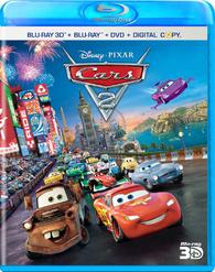 Cars 2 3d Blu Ray Release Date November 1 2011 Blu Ray 3d Blu Ray Dvd