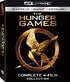 The Hunger Games: Complete 4-Film Collection 4K (Blu-ray)