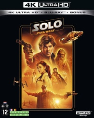 Solo: A Star Wars Story 4K (Blu-ray) Temporary cover art